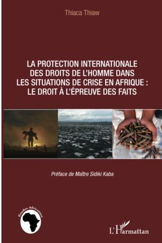 9782296998957: La protection internationale des droits de l'homme dans les situations de crise en Afrique :