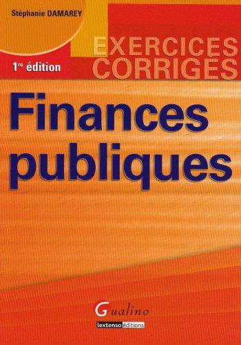 9782297000086: Finances publiques