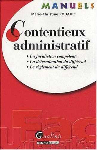9782297000109: Contentieux administratif