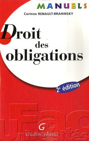 9782297003919: Droit des obligations (French Edition)