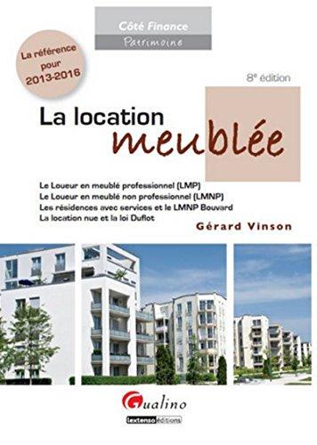 9782297005722: La location meublée (8e. édition)