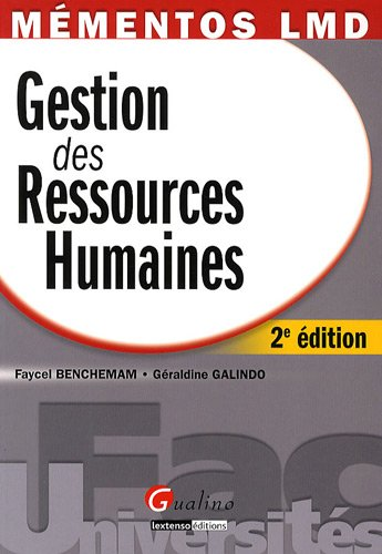 9782297010559: Gestion des Ressources Humaines (French Edition)
