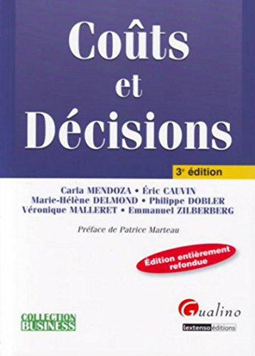 Coûts et Décisions (French Edition): Collectif