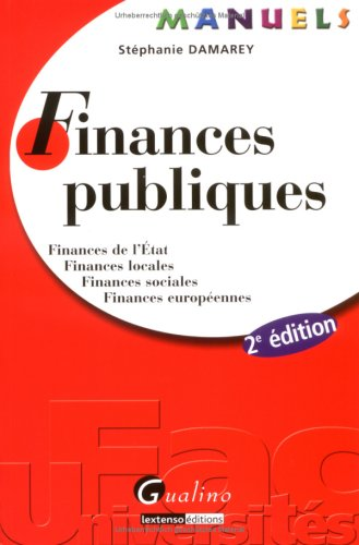 9782297011143: finances publiques (2e édition)