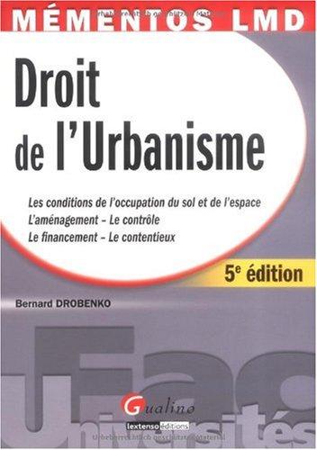 Droit de l'urbanisme : Les conditions de