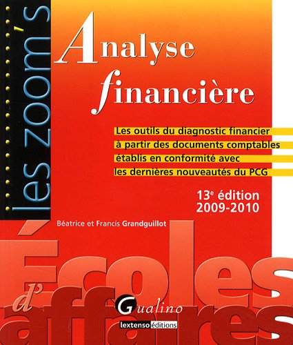 9782297012324: Analyse financière (French Edition)