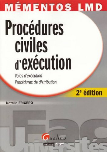 9782297012478: Procédures civiles d'exécution