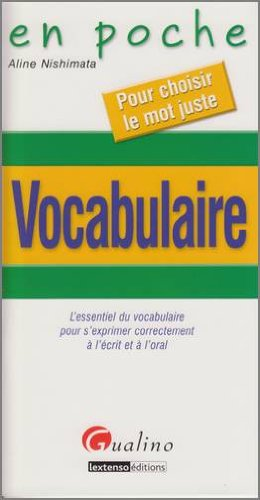 9782297012935: Vocabulaire en poche