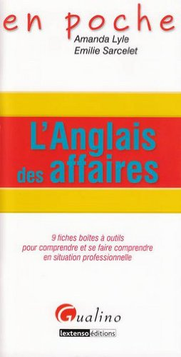 9782297014823: L'anglais des affaires (French Edition)