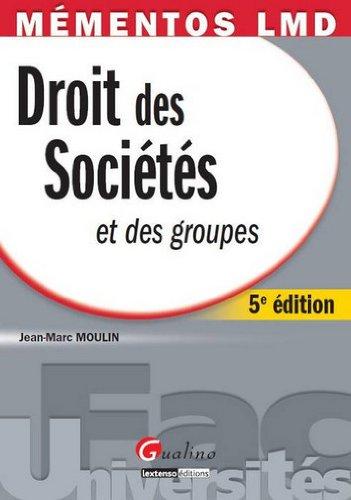 9782297015035: Mementos-droit des sociétés et des groupes (French Edition)