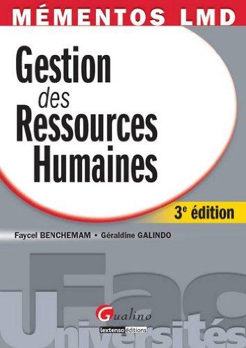9782297018227: gestion des ressources humaines (3e édition)