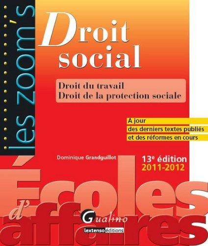 9782297019095: droit social (13e édition)