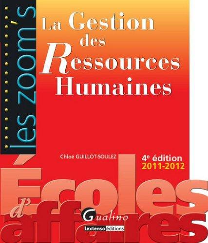 9782297019156: La gestion des ressources humaines