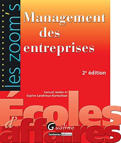 MANAGEMENT DES ENTREPRISES 2EME ED 2011: LANDRIEUX -NED 2011-