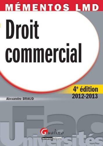 9782297024372: Droit commercial