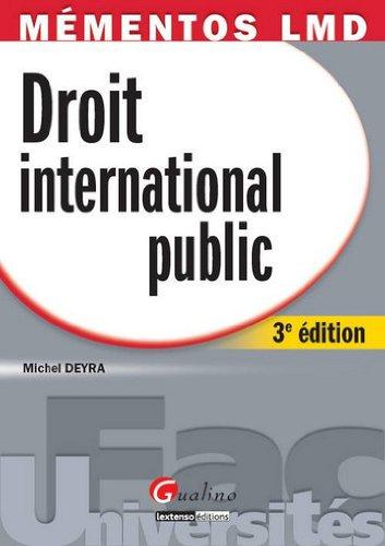 9782297024426: Mémentos LMDD - droit international public