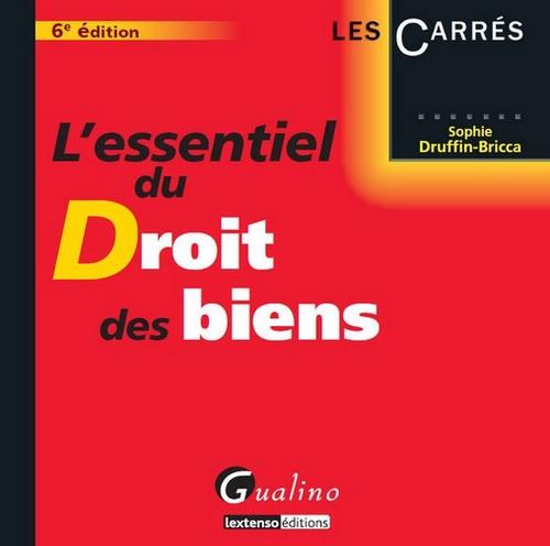 9782297025027: Essentiel du Droit des Biens,Sixième Edition (l')