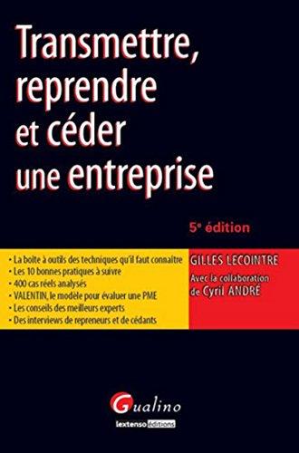 9782297025706: Transmission d'Entreprise en Pratique,Cinquième Edition (la)
