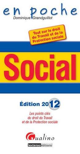 9782297025775: social 2012 (6e édition)
