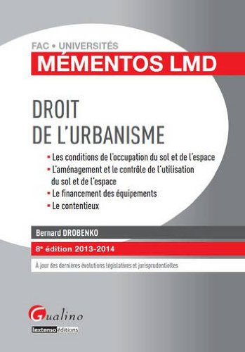 9782297032599: Mementos lmd droit de l'urbanisme, 7eme edition