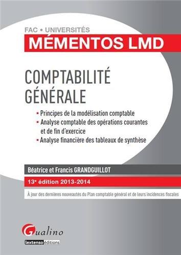 9782297032612: Comptabilité générale 2013-2014 (13e édition)