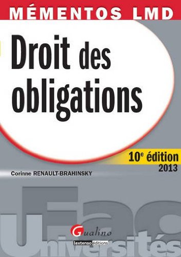 9782297032704: Droit des obligations (French Edition)