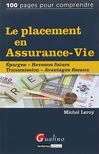 9782297033930: Le placement en assurance-vie
