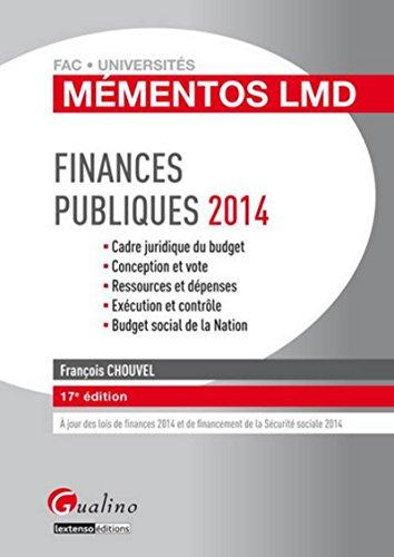 9782297039109: Finances publiques 2014