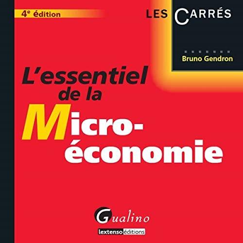 9782297039284: L'essentiel de la micro-économie