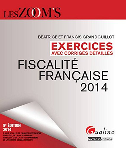 9782297039413: Exercices corriges : fiscalite francaise 2014