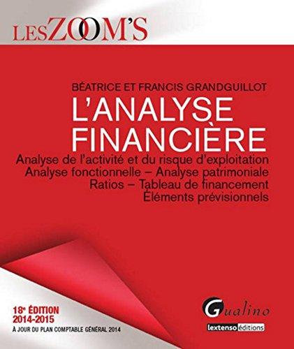 9782297040440: Zoom's - Analyse financière 2014-2015, 18ème Ed