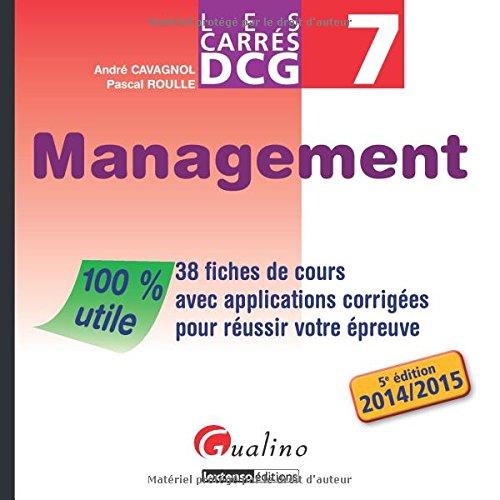 9782297040846: Carres Dcg 7 - Management