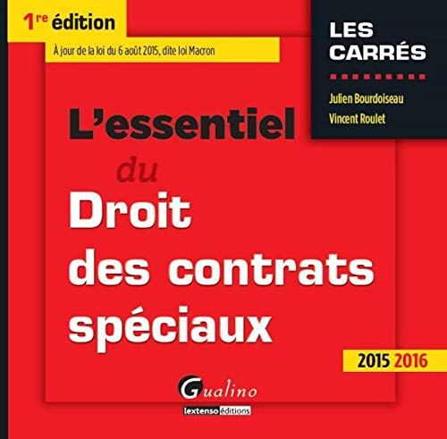 9782297046619: L'essentiel du Droit des contrats sp�ciaux