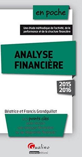 9782297048309: Analyse financière 2015-2016