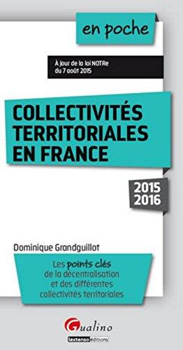 9782297048354: Collectivités territoriales en France