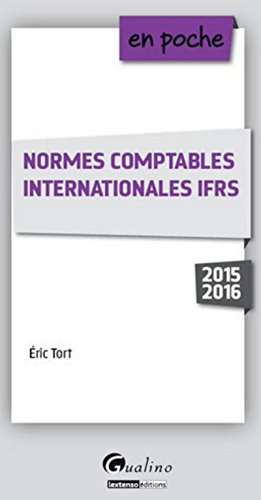 9782297048453: Normes comptables internationales IFRS 2015-2016