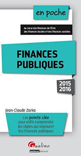9782297048514: Finances publiques