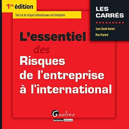 9782297048767: L'essentiel des Risques de l'entreprise à l'international