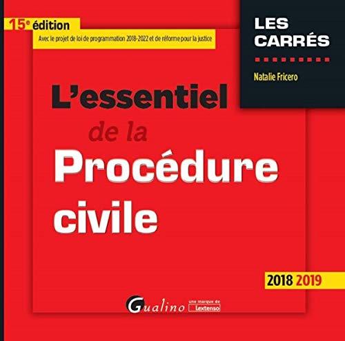 9782297068710: L'essentiel de la procédure civile