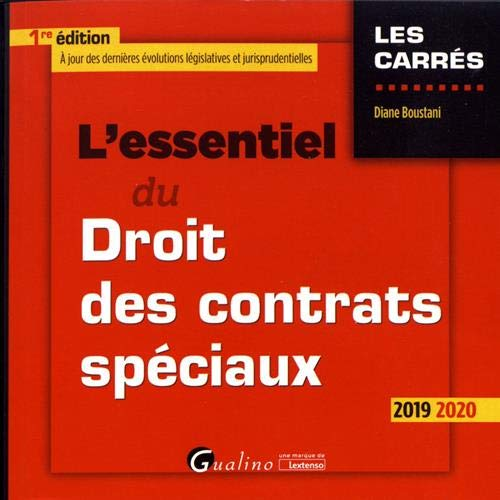9782297073899: L'essentiel du droit des contrats spéciaux