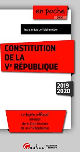 9782297074919: Constitution de la Ve République