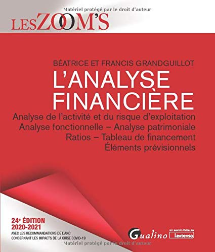 9782297092029: L'analyse financière : Analyse de l'activité et du risque d'exploitation, Analyse fonctionnelle - Analyse patrimoniale, Ratios - Tableaux de financement, Eléments prévisionnels