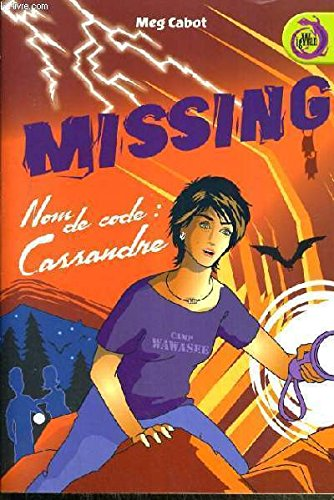 9782298006421: Missing nom de code: Cassandre
