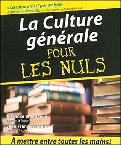 9782298006940: La Culture générale pour les nuls