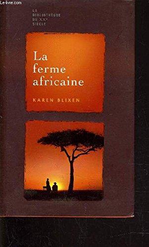 9782298009019: La ferme africaine