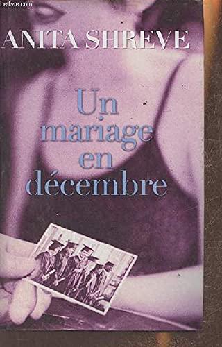 9782298017830: Un Mariage En Decembre (French)