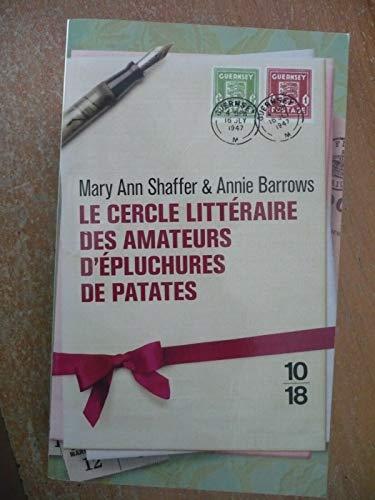 9782298030983: Le Cercle littéraire des amateurs d'épluchures de patates
