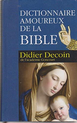 9782298036305: DICTIONNAIRE AMOUREUX de la BIBLE