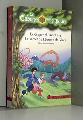 9782298043181: le dragon du mont fuji + le secret de leonard de vinci (volume double)