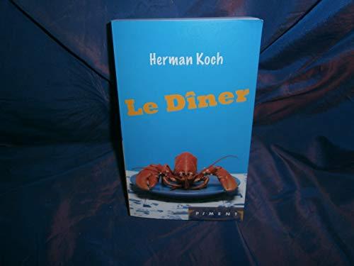 9782298053043: Le diner